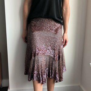 Gorgeous sequin skirt!